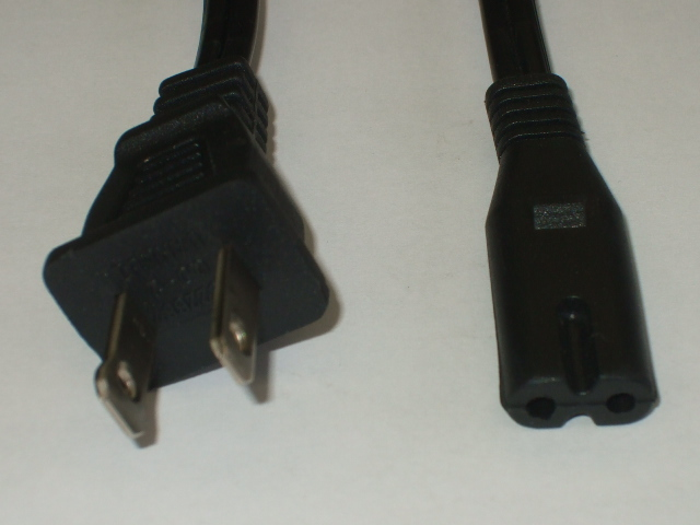 LCD/LED TV Power Cords 1-15P to IEC 320 C-7