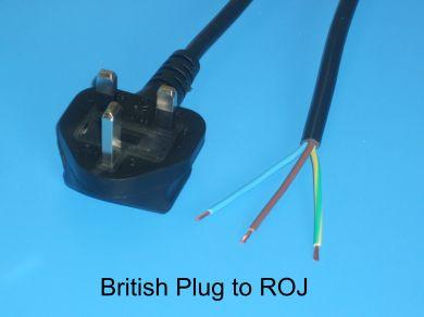 UK Plug to ROJ